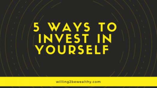 5 ways to invest in yourself blog banner